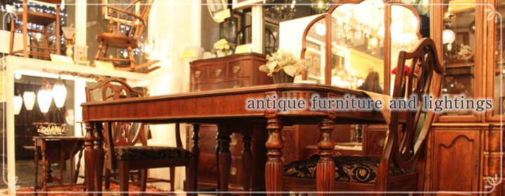 vintage furniture and lightings